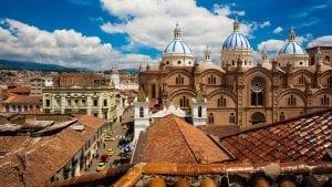 Cuenca Ecuador background