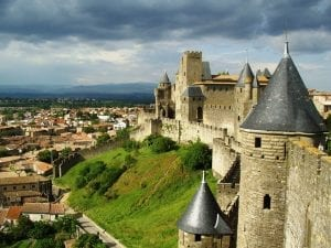 carcassone france background