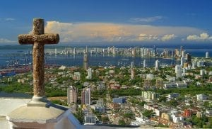 cartagena colombia background