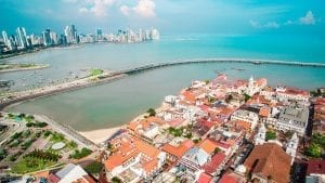 casco viejo panama background