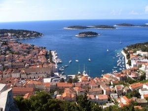 hvar croatia background