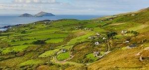 iveragh peninsula ireland background