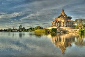kuching malaysia background
