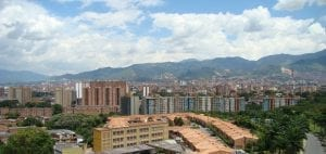 medellin colombia background