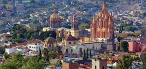 san miguel de allende mexico background