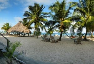 Placencia belize background