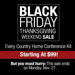 BlackFriday Home Conference Kits